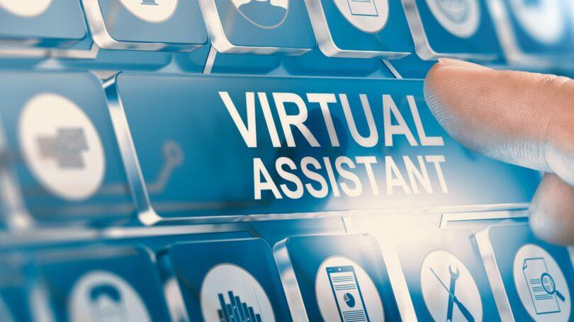 Virtual Assistant Button Screen