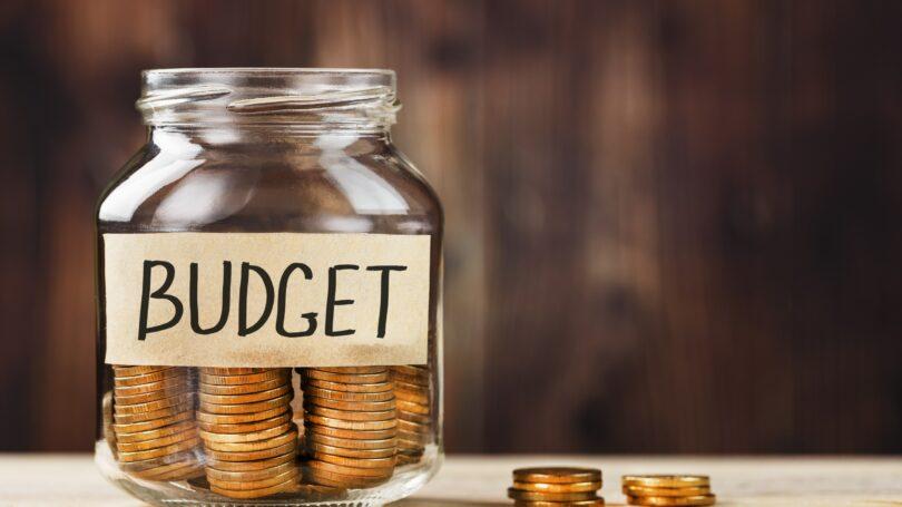 Budget Coins In Jar