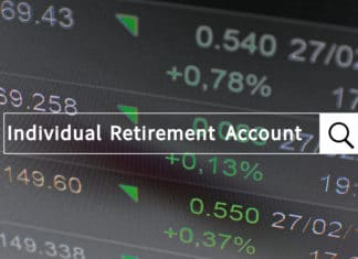 Ira Individual Retirement Account Search Bar
