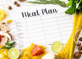 Meal Plan Days Of The Week Planner