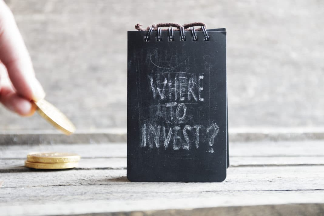 Where To Invest Gold Coins Chalk Notepad