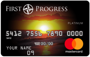 First Progress Platinum Card Art