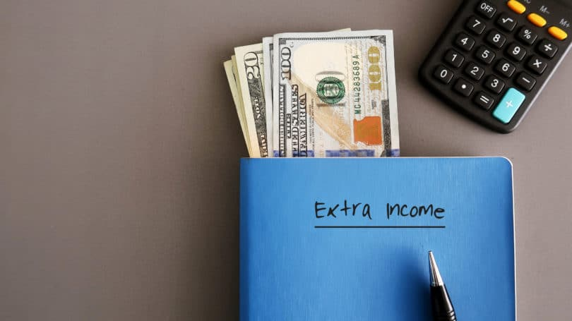 Extra Income Cash Notebook Journal Planner Calculator