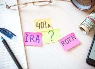 Post Its 401k Ira Roth Question Mark Retirement Tax Free