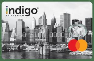 Indigo Platinum Mastercard Card Art