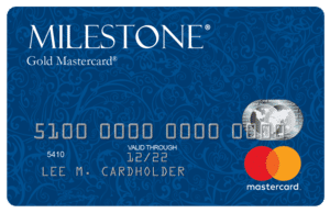 Milestone Gold Mastercard Card Art