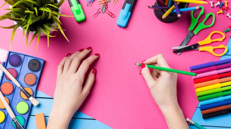 Hand Drawing Arts Crafts Markers Paint Diy