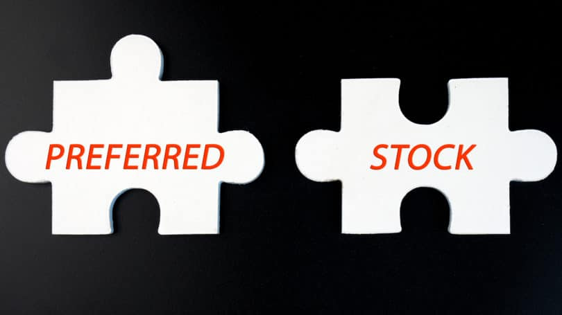 Preferred Stock Puzzle Pieces Black White