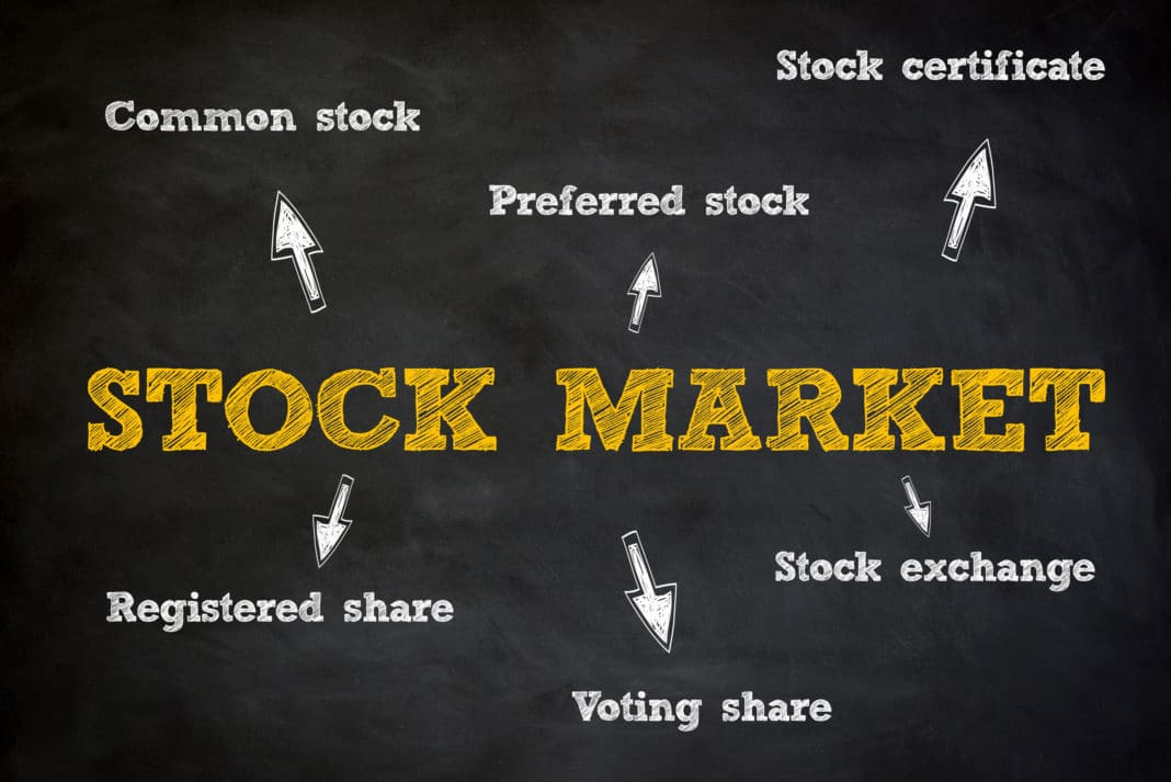Stock Market Common Preferred Voting Share Exchange Registered