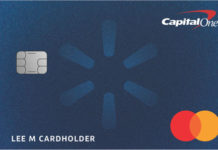 Capital One Walmart Credit Card