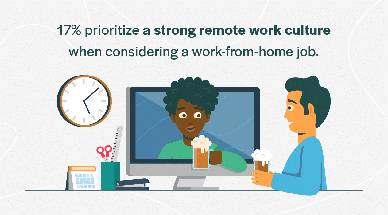 strong remote work culture