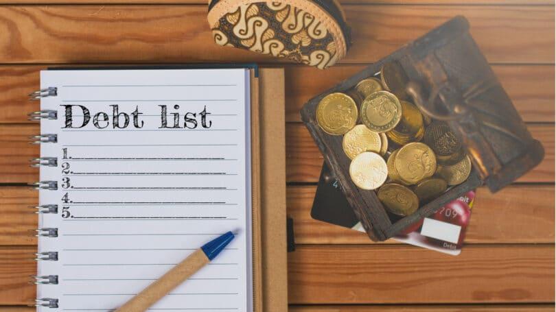 Debt List Table Coins