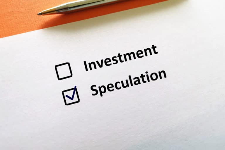 Investment Vs Speculation Differences