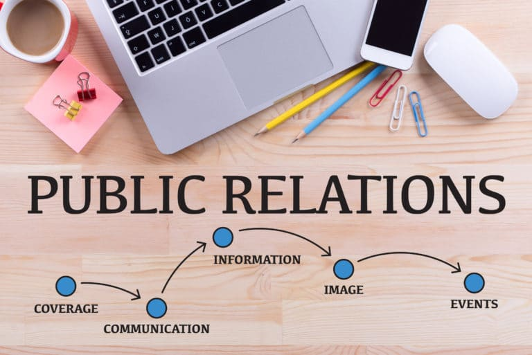 Public Relations Coverage Communication Information Image Events