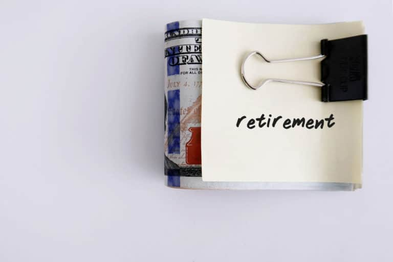 Retirement Savings Investing Cash Money Clip