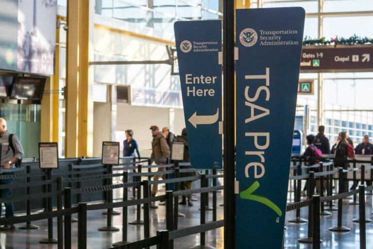 Tsa Precheck Airport Security Line