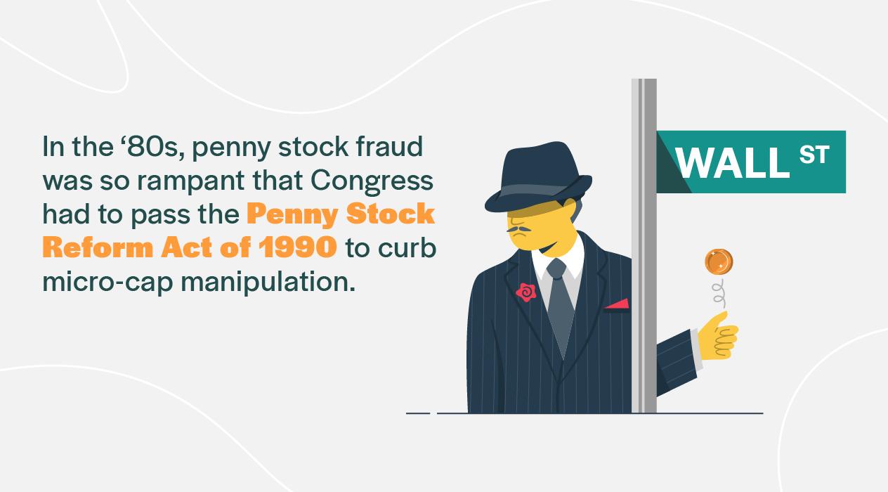 Penipuan saham penny tahun 80-an