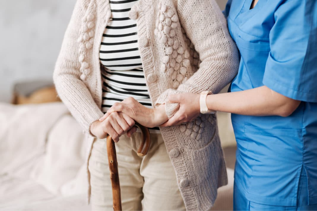 Nursing Home Elderly Walking Cane