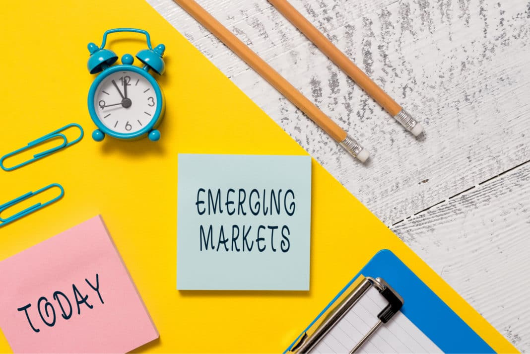 Emerging Markets Investing Today Desk Post It Offfice Supplies