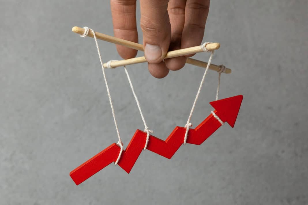 Stock Market Manipulation Puppeteer Control Growth