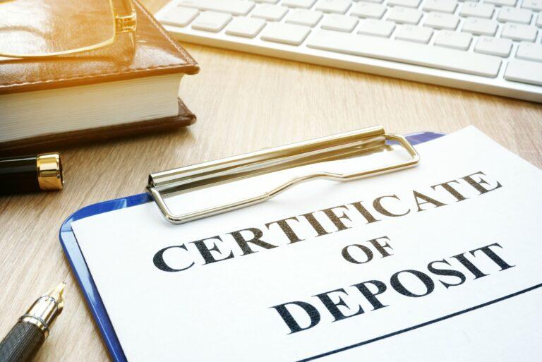 Certificate Of Deposit Cd Definition