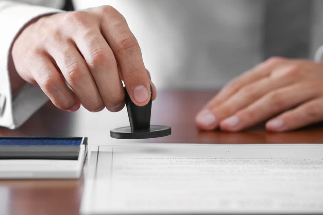 Notary Stamp Power Of Attorney