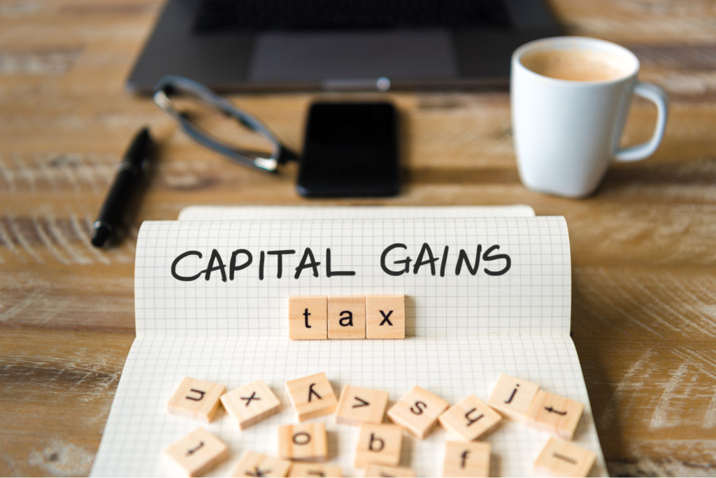 Capital Gains Vs Income Tax