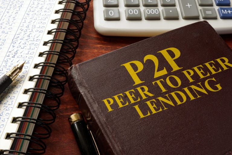 P2p Peer To Peer Lending Borrow
