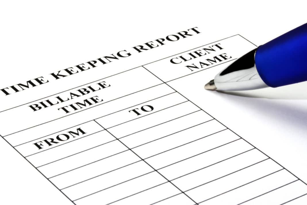 Billable Time Keeping Report