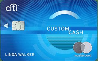 Citi Bank Custom Cash Card