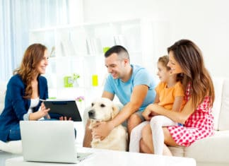 Family Meeting With Advisor Home