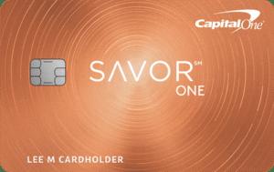 Capital One Savorone Card Art 8 17 21