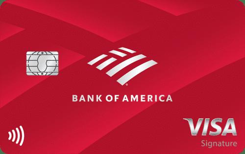 Bank America Cash Rewards Credit Card