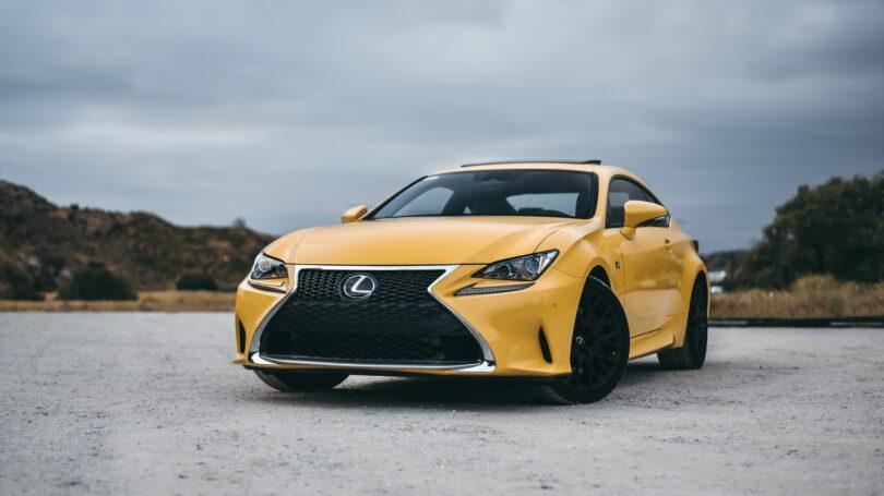 Yellow Lexus Is
