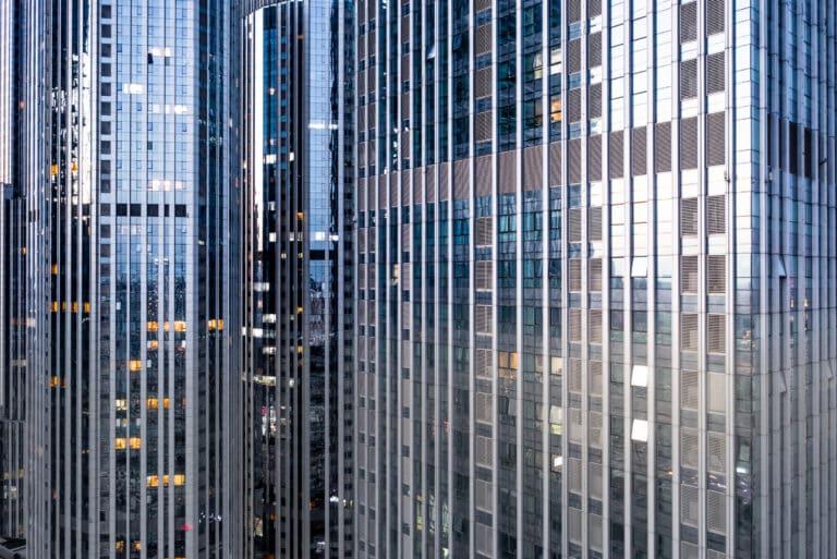 Front Building Sky Scraper