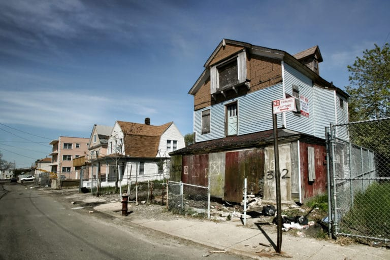 Row Foreclosed Homes