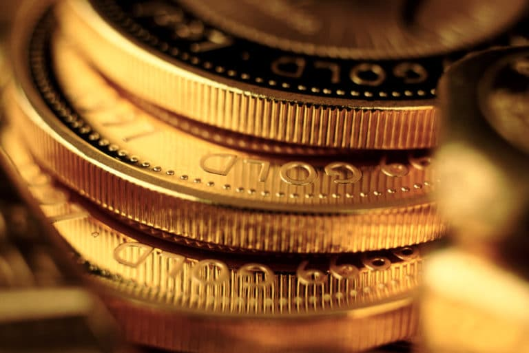 Stack Gold Coins